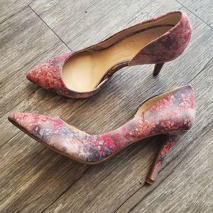 Jessica Simpson JP-LIVVY Vintage Floral Heels